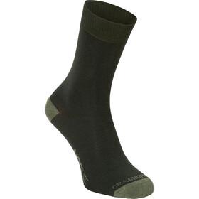 Craghoppers NosiLife Socks Twin Pack Damen parka green/dry grass